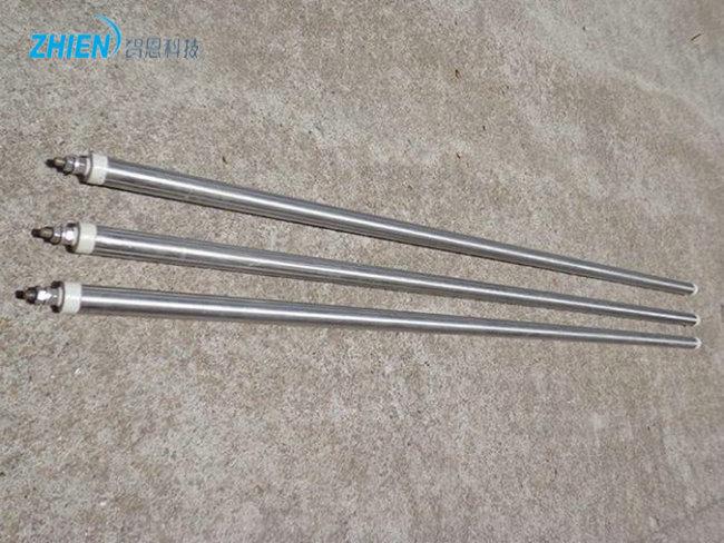 电加热管加热流动空气时表面温度