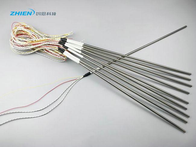 带K型热电偶的感温型单头电加热管