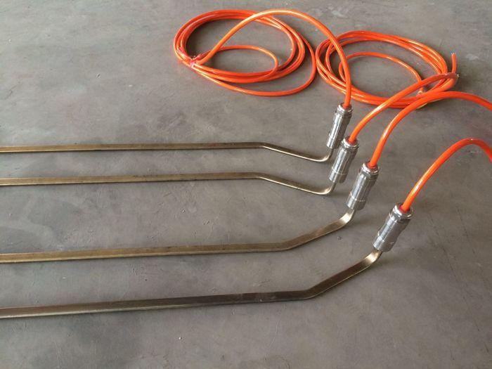 非标定制 6米长扁形加热管