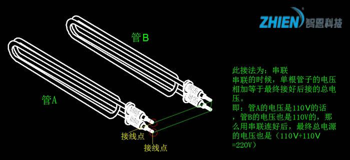 电加热管接线图 电加热管怎么接线?